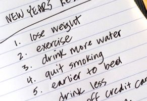 New Year Resolutions or Goals