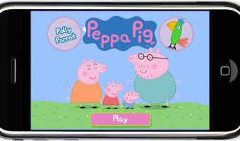 iPhone App Review – Peppa Pig Polly Parrot App