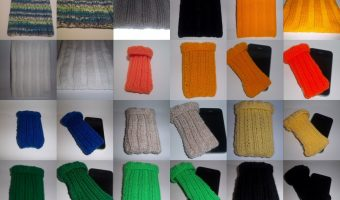 Hand Knitted iPad and iPhone Covers