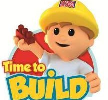 "It's ""Time to Build"" with Mega Blocks"