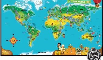 Review – LeapFrog Tag World Map Activity Board Game