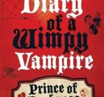 Book Review – Diary of a Wimpy Vampire – Prince of Dorkness by Tim Collins