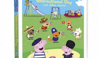 Review And Giveaway –  Peppa Pig DVD