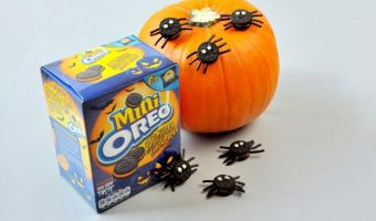 Review – Halloween treat using Mini Oreo biscuits