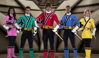 Power Rangers Samurai head to Pleasure Beach Blackpool