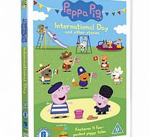 And the Winner of the Peppa Pig DVD is…