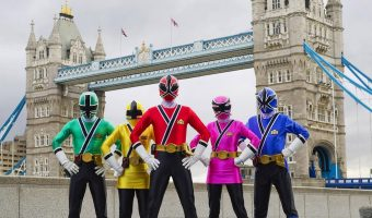 Power Rangers Celebrate in London