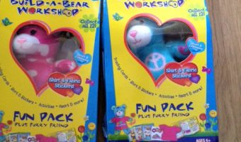 Review – Build-a-Bear Workshop Fun Packs