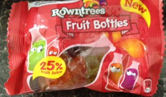 Review – Rowntrees Fruit Bottles