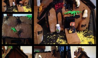 The Gallery 121 – Frightful Halloween Gingerbread House