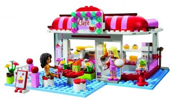 Review – Lego Friends City Park Café