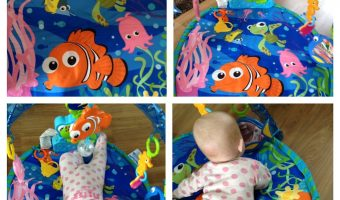 Review – Fisher Price Finding Nemo Play Gym