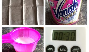 Vanish – The 30 Second Stain Challenge