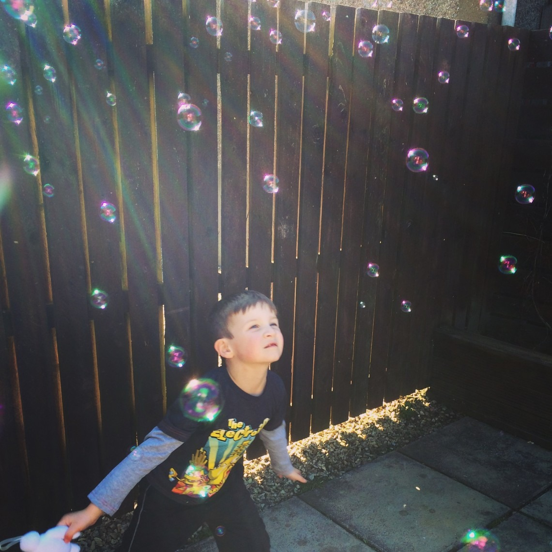 Playing Bubbles