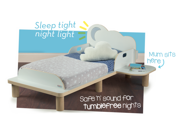 Starbright Toddler Bed