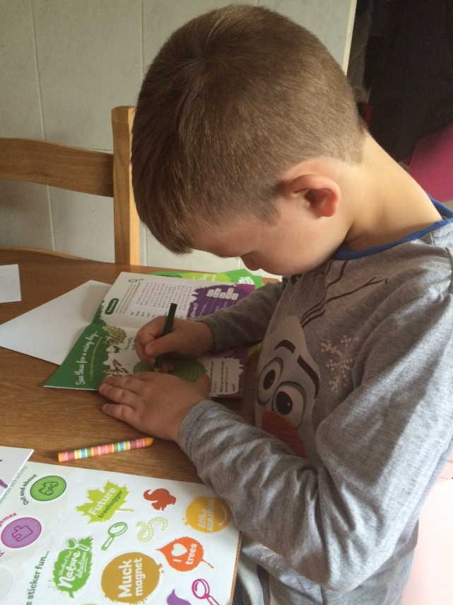 Wordsearch Nature Detectives