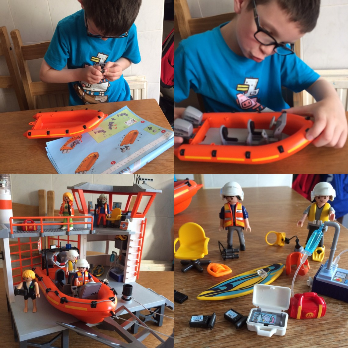 Building Playmobil Boat