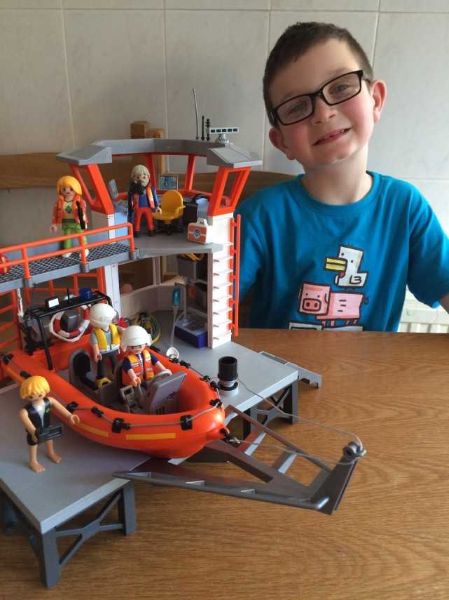 Playmobil Coastguard Station