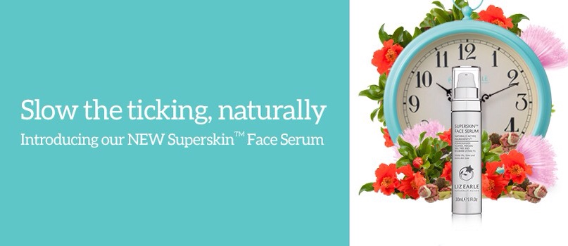 Liz Earle Face Serum ad