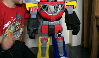 Imaginext® Power Rangers Morphin Megazod – Review