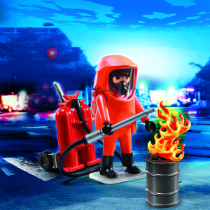 Playmobil Firefighter