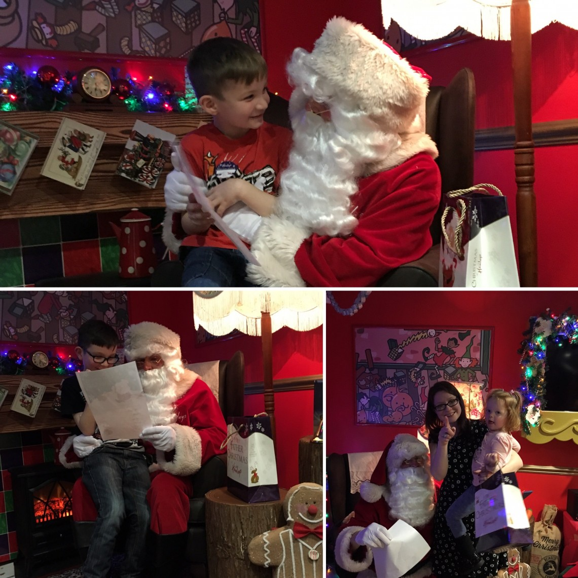 Father Christmas At Hamleys Glasgow