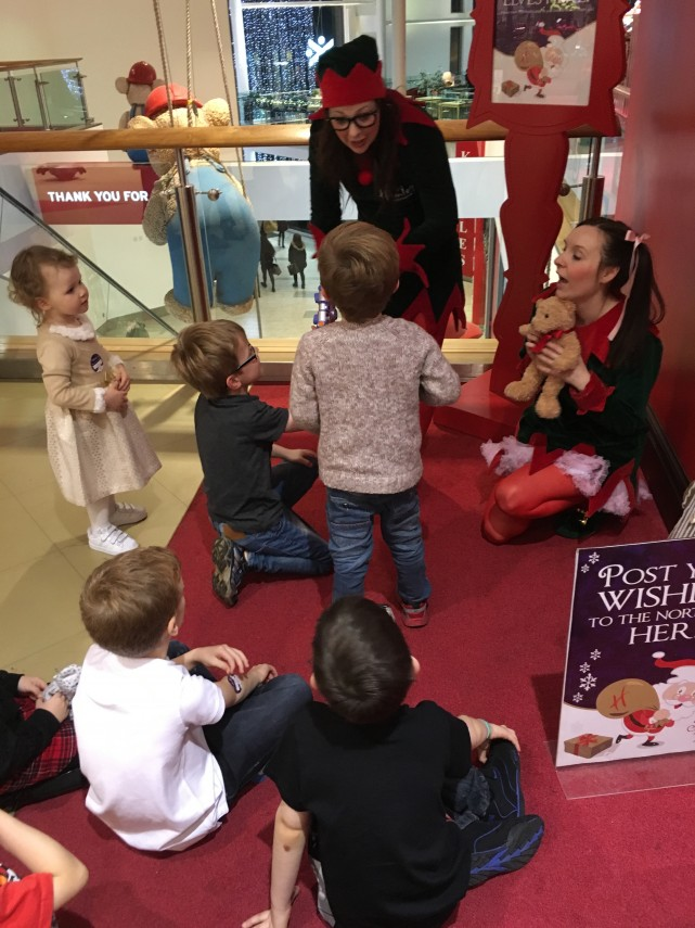 Meeting the Elves