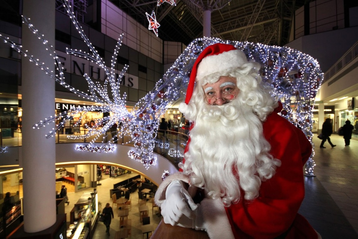 Father Christmas St Enoch