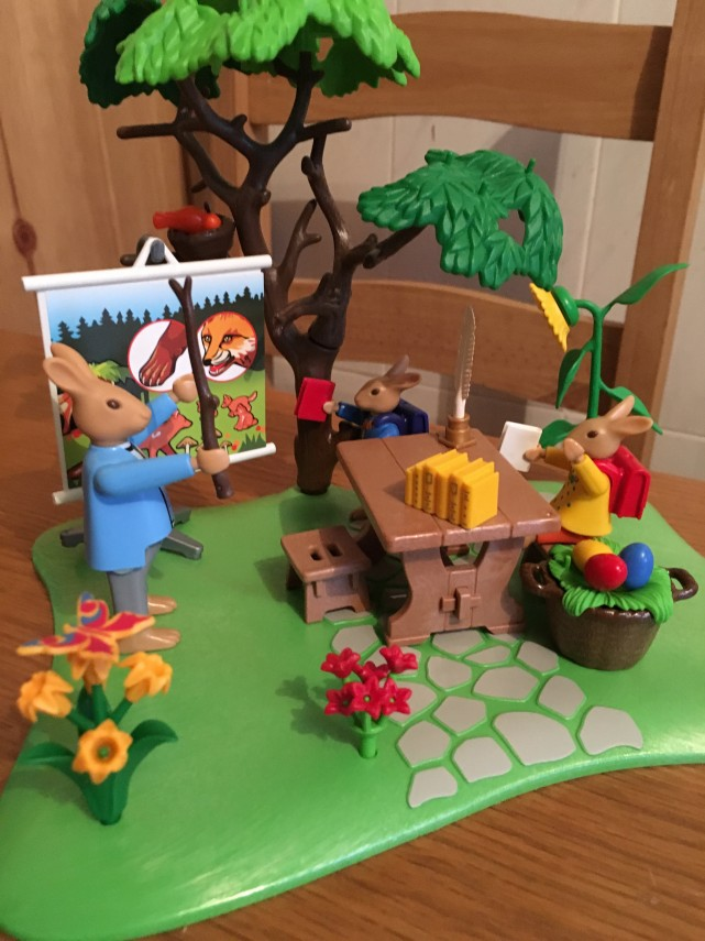 playmobil easter bunny school 6173  review