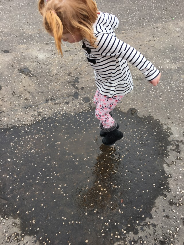 Muddy Puddles Jumping