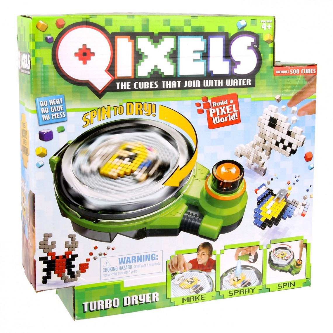 Qixels Turbo Dryer