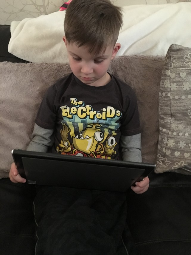 Using the Tablet
