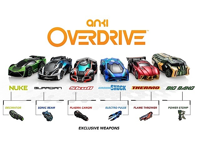 Anki OVERDRIVE all cars