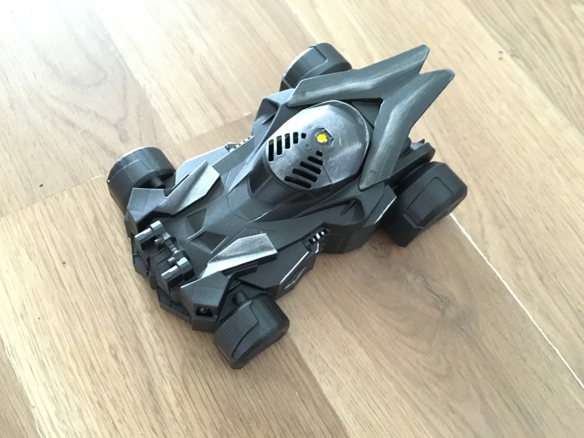Batmobile on the ground