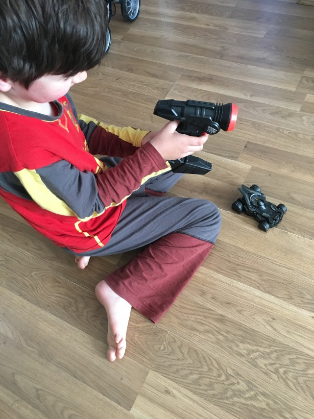 Airhogs Anti Gravity Batmobile Fun