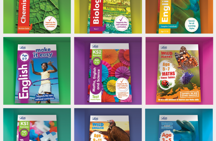 Win A Letts 'Back To School' Book Bundle