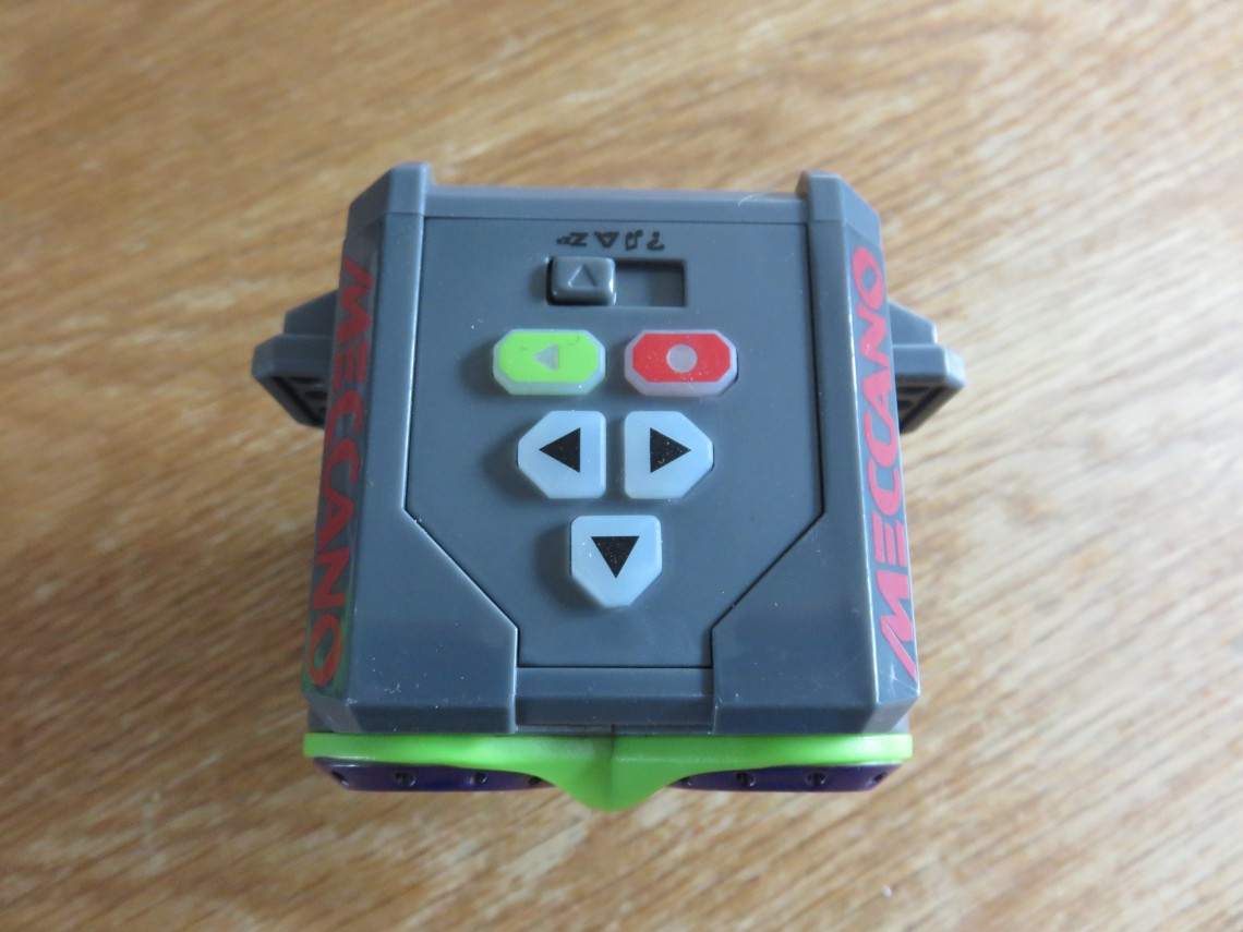 Meccano Micronoid Robot Review Motor Reversing Switches Electronics In Buttons