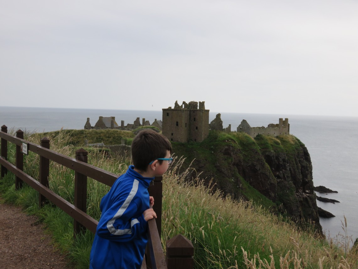 The views of Dunnottar Castle