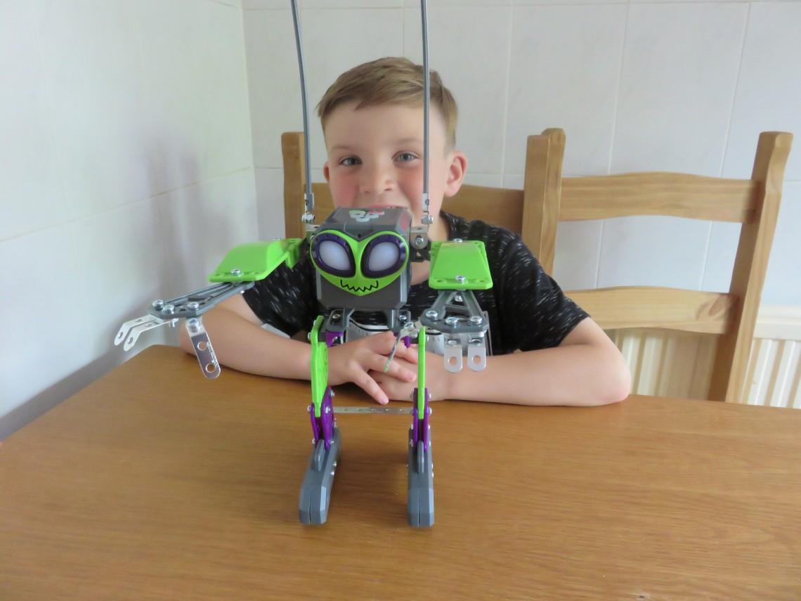 Meccano MicroNoid Robot Switch