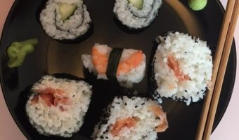 Cooking with Kids – Sushi for Beginners with Yutaka And Giveaway