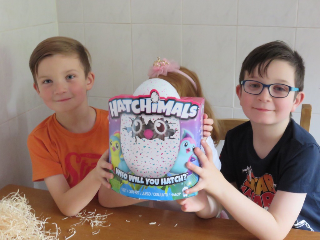 Hatchimals Unboxed