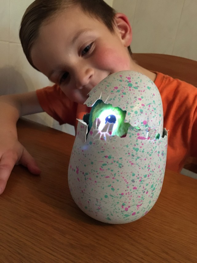 Peeking Hatchimal