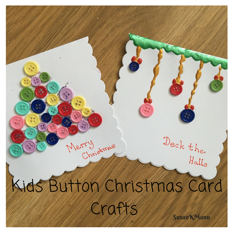 kids-button-craft-christmas-cards