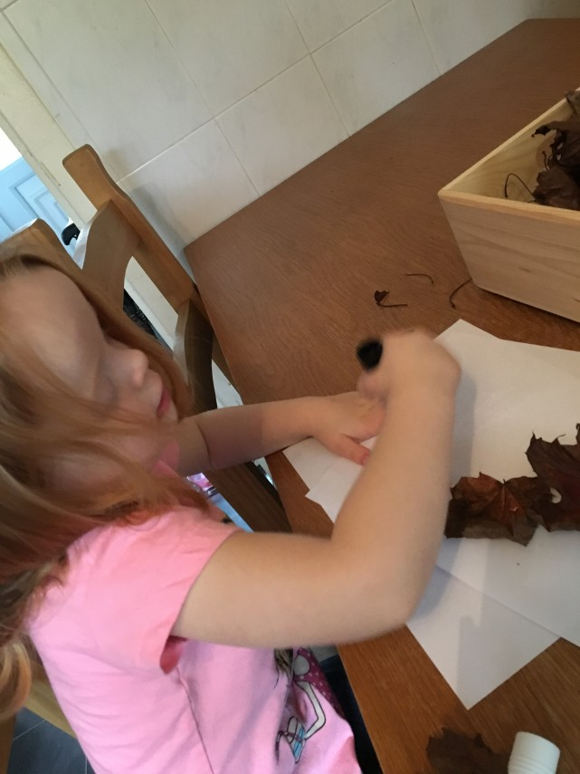 making-leaf-picture