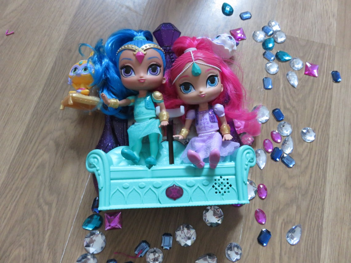 Shimmer and Shine Toy Review