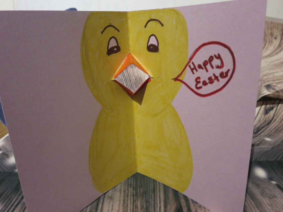 Chirping Chick Card