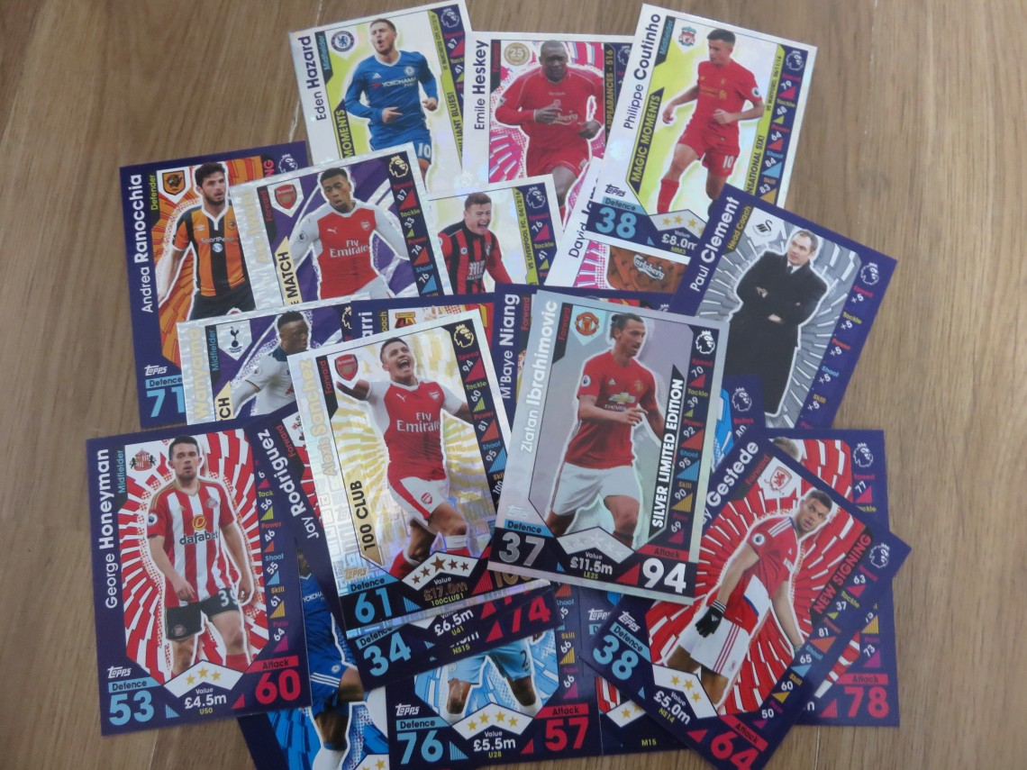 Match Attax Extra Cards