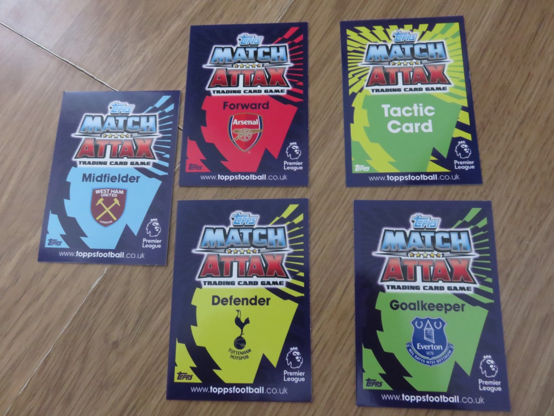 Match Attax Card Types