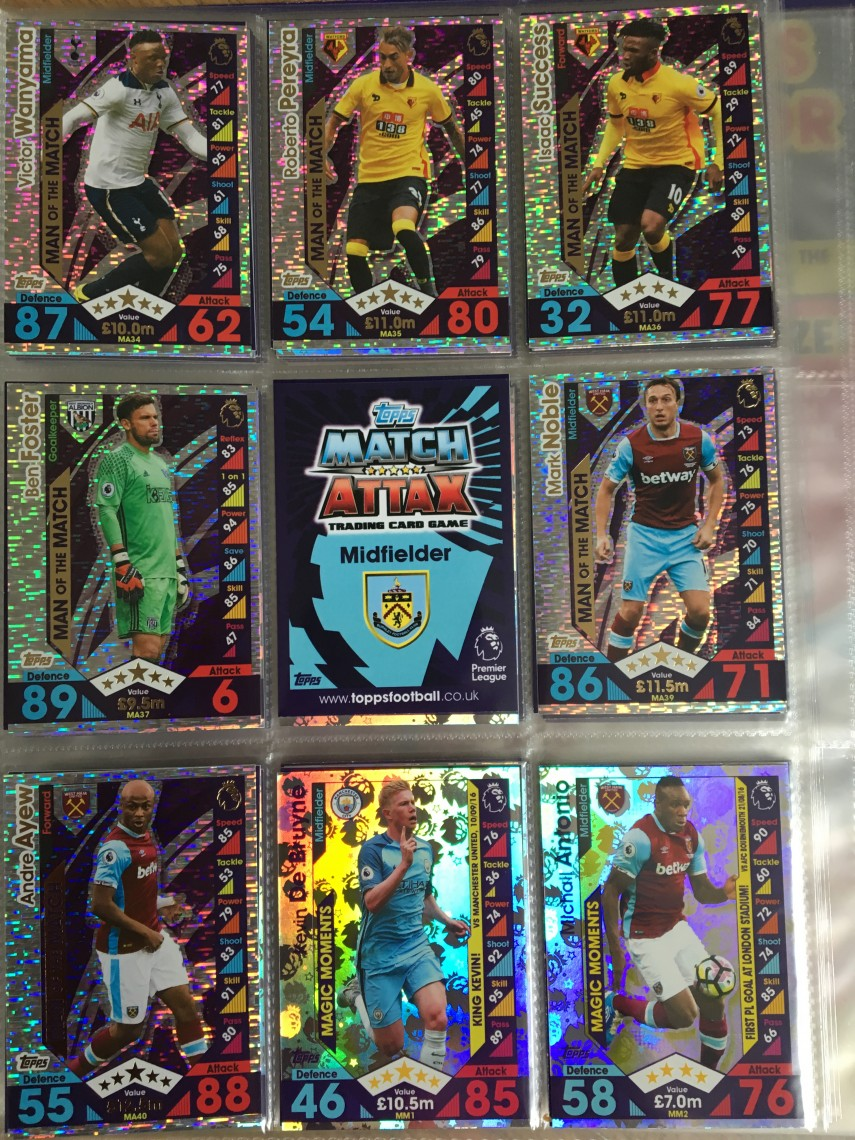 Match Attax Extra Cards in BookMatch Attax Extra Cards in Book