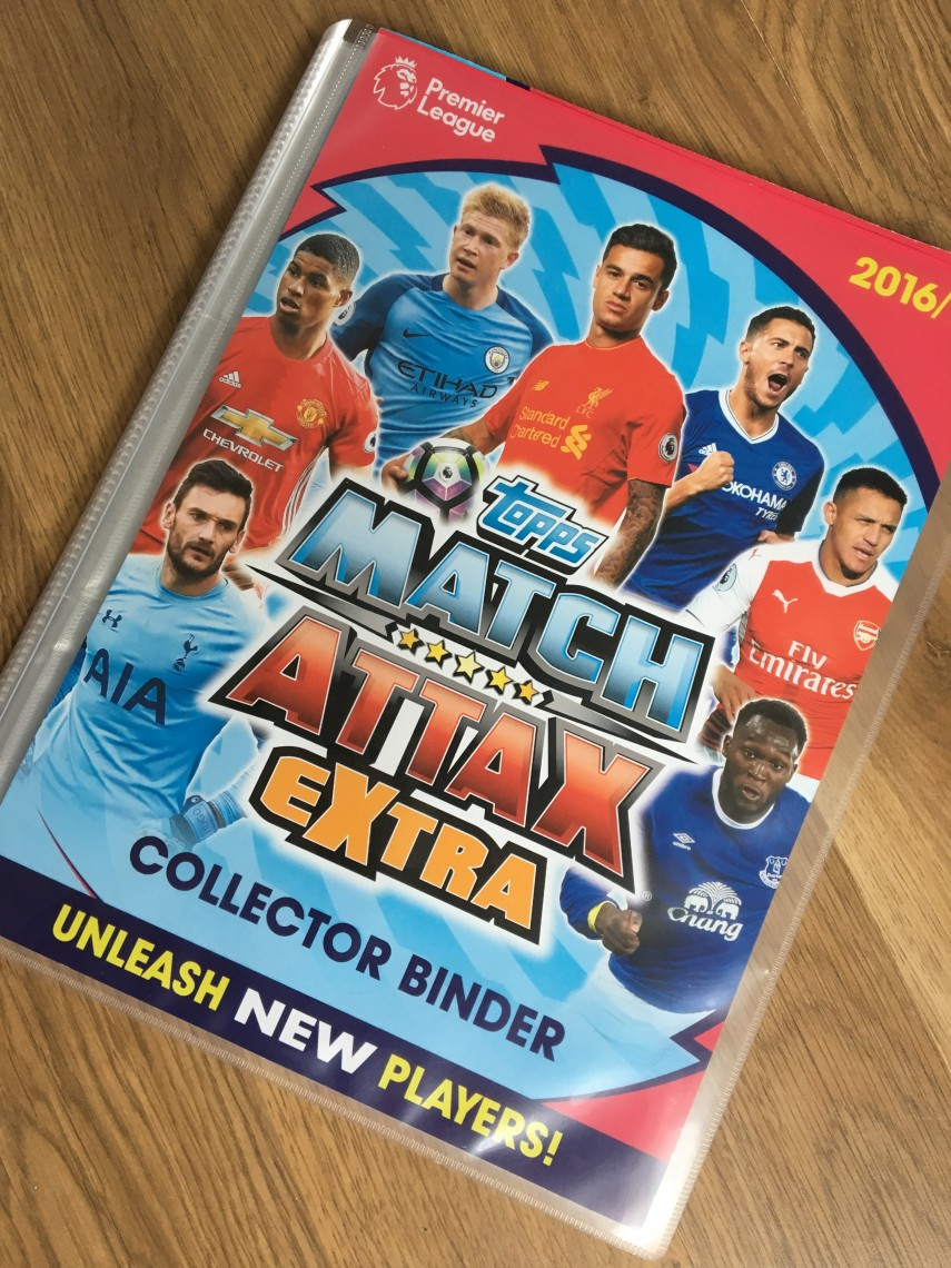 Match Attax Extra Filled Book